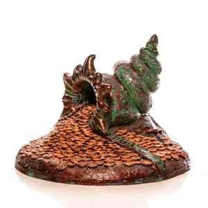 Декоративная крышка Ракушка