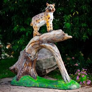 Фигура садовая Рысь