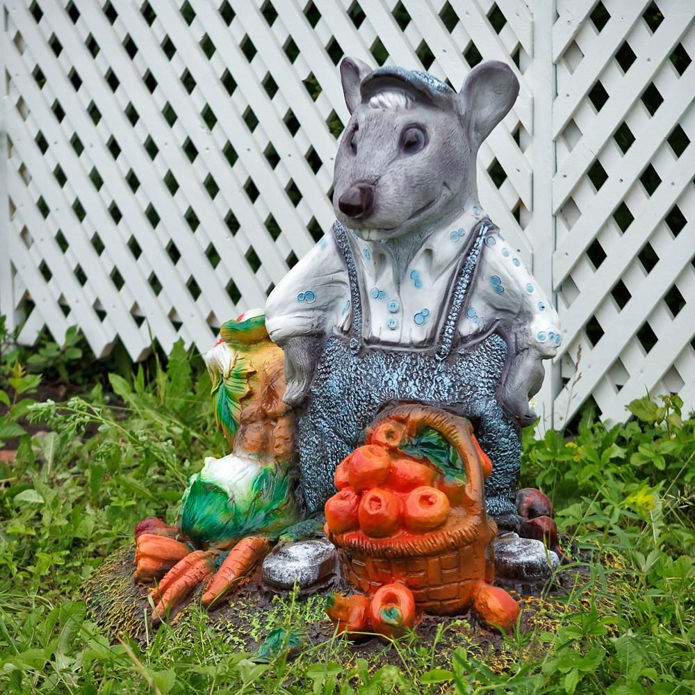 Фигура для сада Мистер Крыс