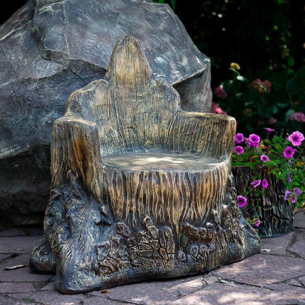Фигура для дачи Кресло Пенек