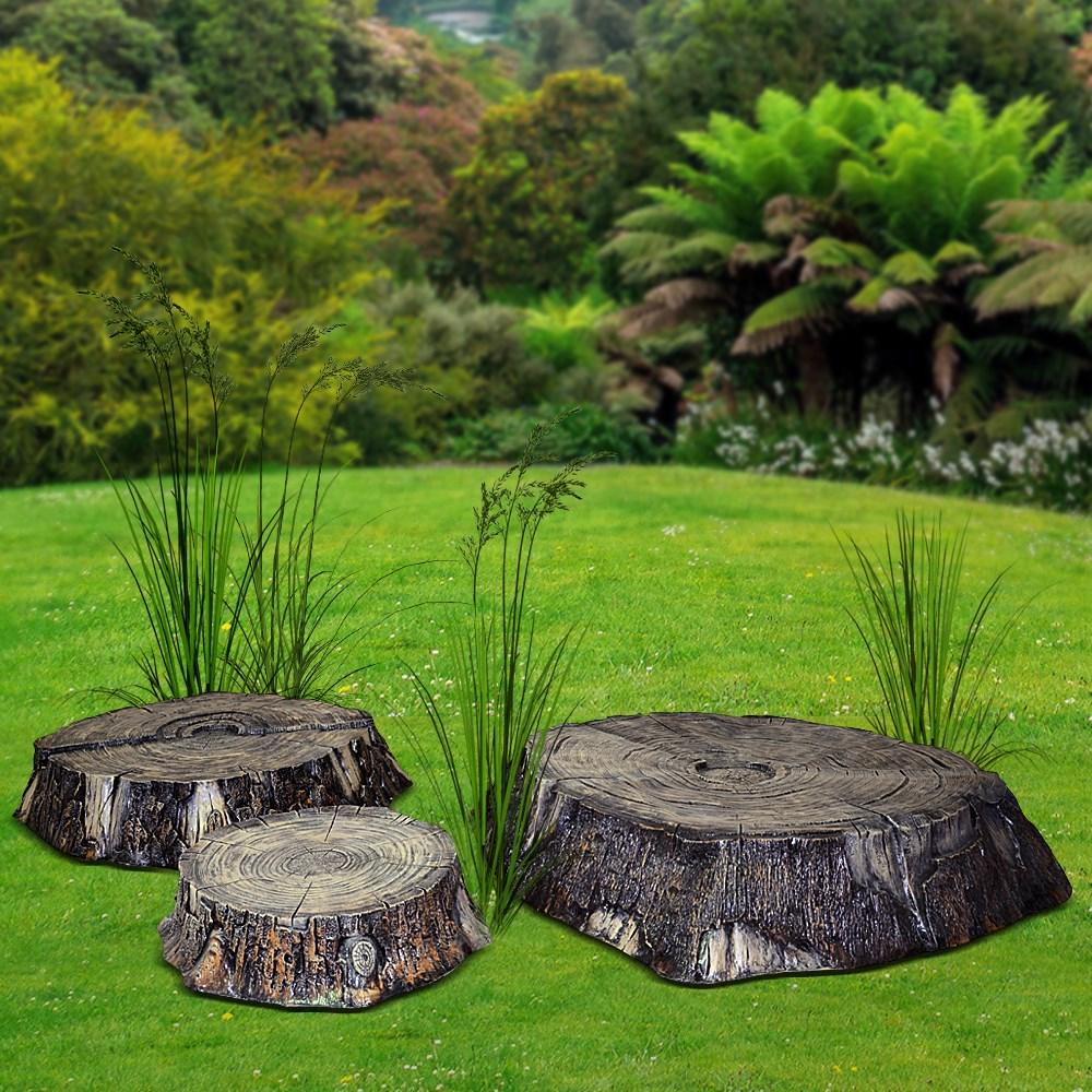 Комплект садовых фигур Пеньки - фото 14059