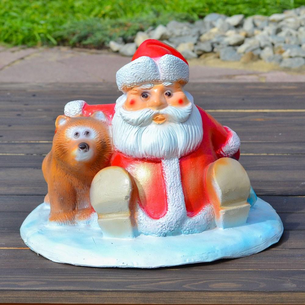 Подставка под елку Дед Мороз с мешком - фото 15404