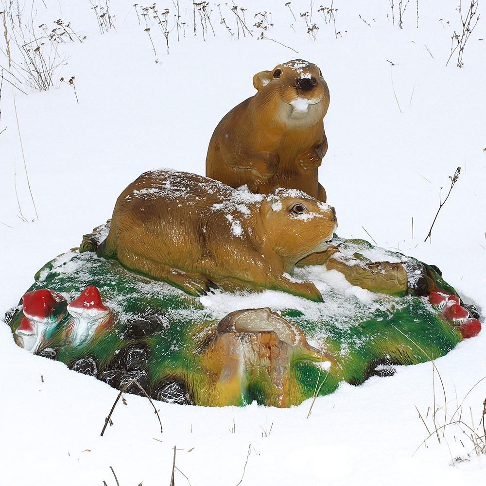 Декоративное укрытие на зиму