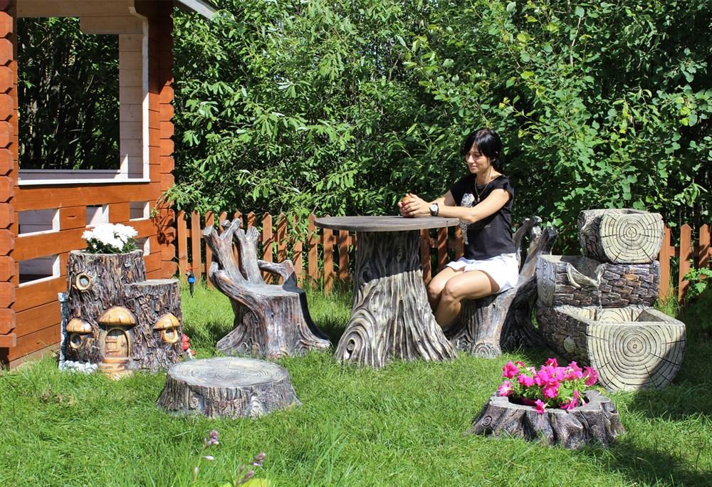 Декоративная садовая мебель