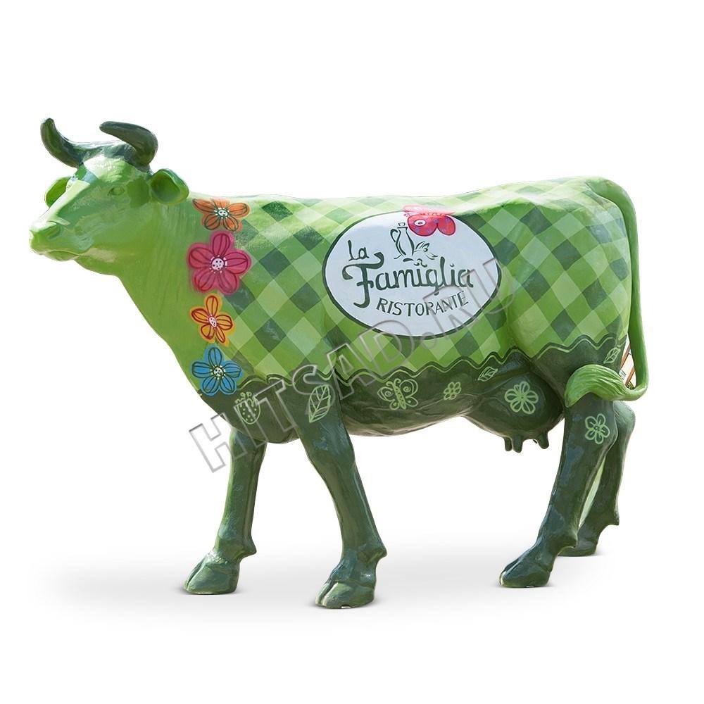 Садовая фигура Корова большая - фото 28766