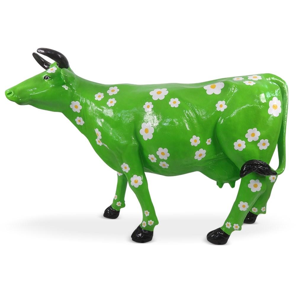 Садовая фигура Корова большая - фото 33605