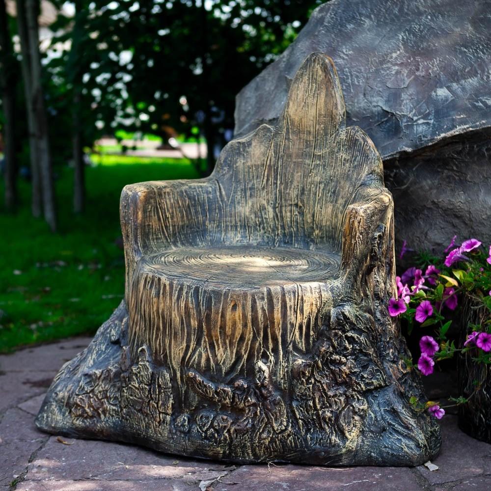 Кресло Пень для дачи