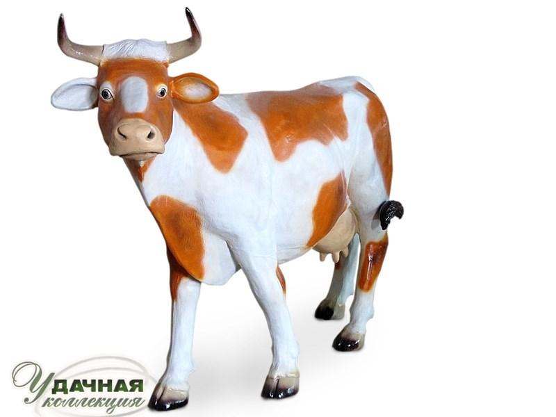 Садовая фигура Корова из стеклопластика