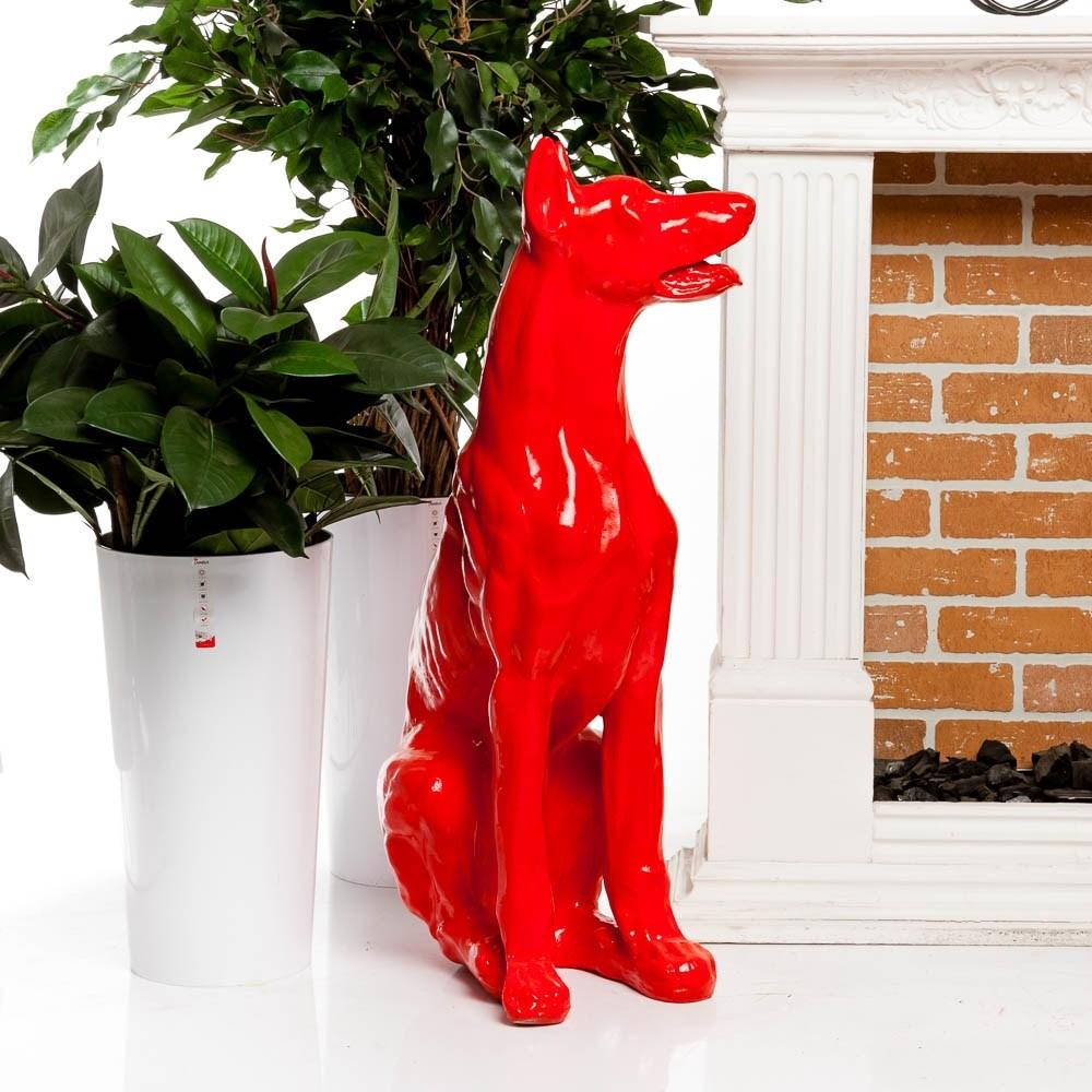 Фигура собаки новогодняя