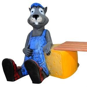 Сказочная фигура Крыс с сыром