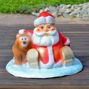Подставка под елку Дед Мороз с мешком