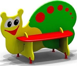 """Скамейка для детской площадки """"Улитка"""""""