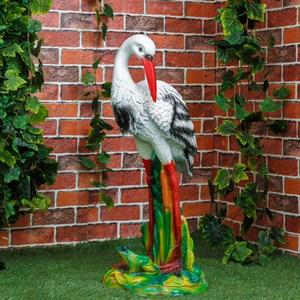 Садовая скульптура Аист