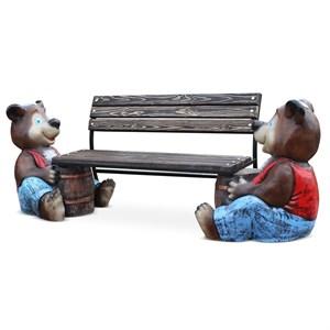 Скамейка со пинкой