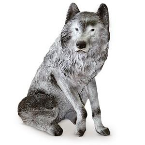 Садовая фигура волк