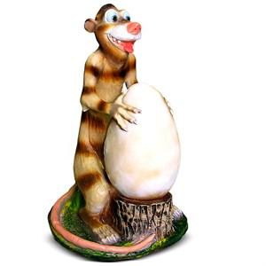 Опоссум с яйцом