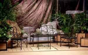Комплект кованой мебели для дачи