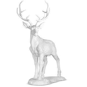 ростовая фигура олень белый