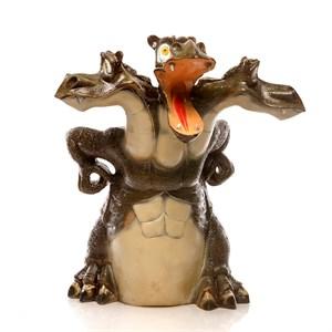 рекламная фигура змей горыныч