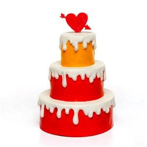 объемная фигура торт