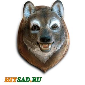 Панно декоративное Голова Волка