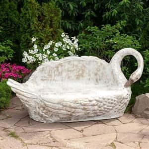 Садовый диван Лебедь