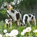 Садово-парковая фигура корова