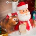 Подставка под елку Дед Мороз с мешком - фото 17513