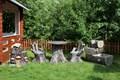 Садовый декор Пни