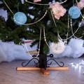 Деревянная подставка для елки
