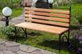 Деревянная скамейка за 6500 руб.