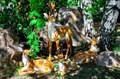 Садово-парковые скульптуры оленей