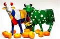 Релкламная фигура корова