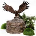 Садовый фонтан Орел - фото 45211