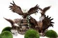 Садовый фонтан Орел - фото 45212