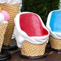 Мороженое кресло для кафе