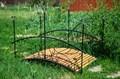 Садовый мостик с 6 фонарями - фото 56580