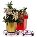 Подставка для цветов на колесах - фото 59550